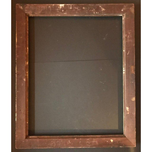 1920s Vintage American Classic Taos School Arts & Crafts Period Frame For Sale In West Palm - Image 6 of 7