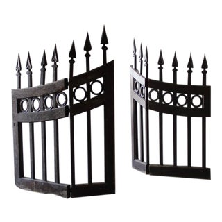 Traditional Wood Stable Gates - a Pair For Sale