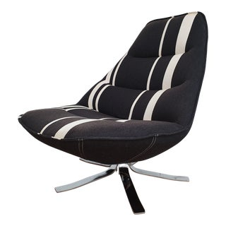 1990s Vintage Danish Design Madsen and Schubell Ms 68 Lounge Chair For Sale