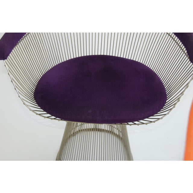 Set of Four Warren Platner Chairs For Sale - Image 10 of 11