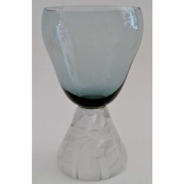 1950's Morgantown Art Glass Vase - Image 2 of 4