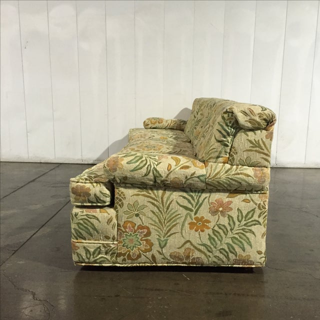 Fine Vintage 60S Retro Floral Sofa Onthecornerstone Fun Painted Chair Ideas Images Onthecornerstoneorg