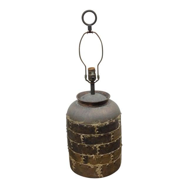 Vintage Chapman Brutalist Lamp For Sale