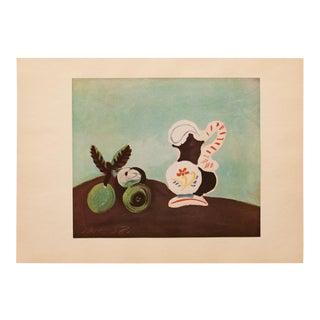 1940s Pablo Picasso, Original Period Swiss Still Life Lithograph For Sale