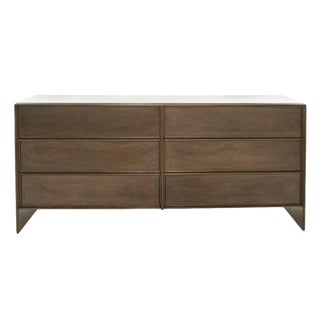 Mid 20th Century Walnut Thin-Line Chest of Drawers by t.h. Robsjohn-Gibbings For Sale