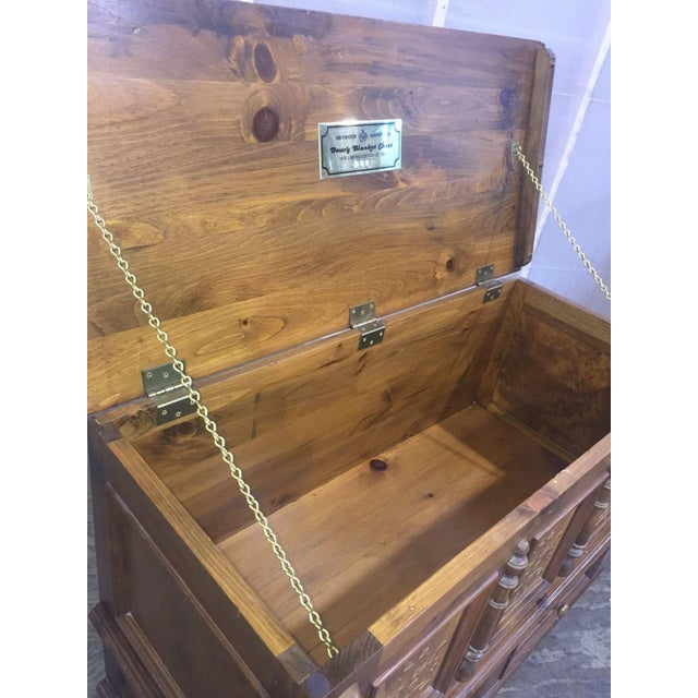Brown Heywood-Wakefield Vintage Limited Ed. Cedar Chest For Sale - Image 8 of 9