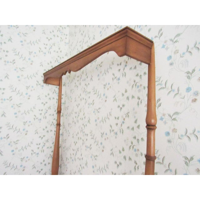American Solid Maple Pennsylvania House Mock Canopy Twin Beds - a Pair For Sale - Image 3 of 9