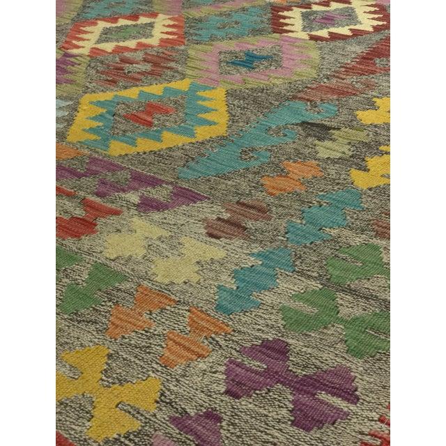 """Bellwether Rugs Wool Kilim Rug - 6'8"""" x 10' - Image 5 of 11"""
