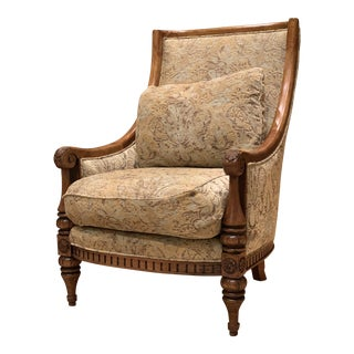 Modern Lexington Furniture Wing Chair For Sale
