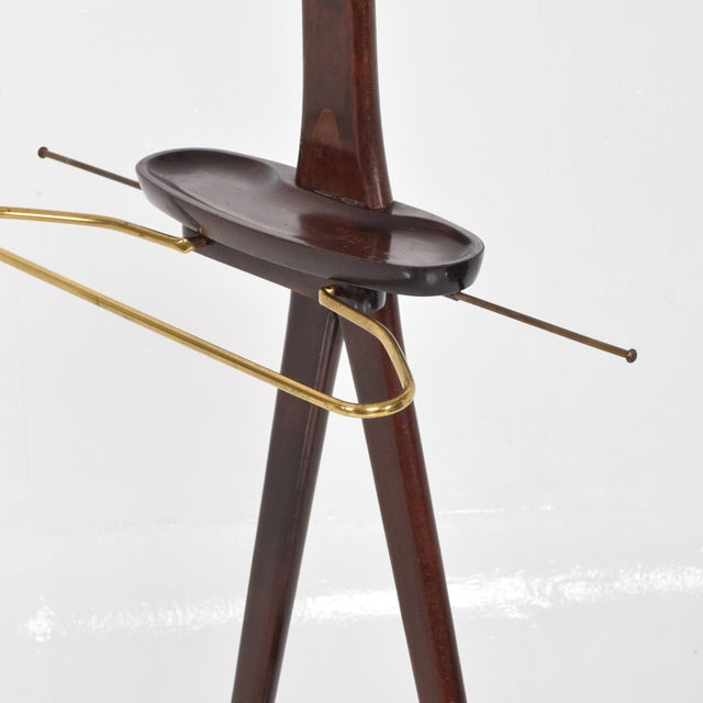Mid Century Modern Italian Gentleman's Valet by Ico Parisi for Fratelli Reguitti - Image 10 of 11