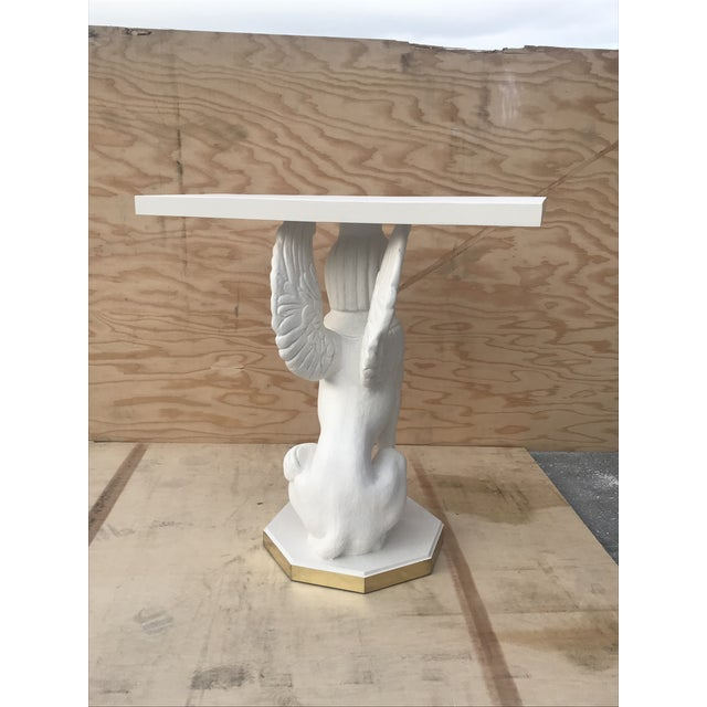1990s Egyptian Bastet Console Tables - a Pair For Sale - Image 5 of 13