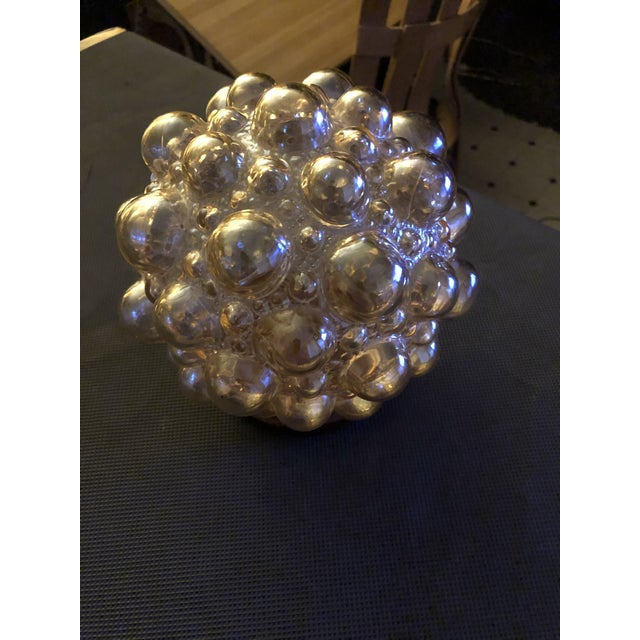 Glass Helena Tynell Bubble Lamp Flush Mount Wall Sconce Shade For Sale - Image 7 of 7