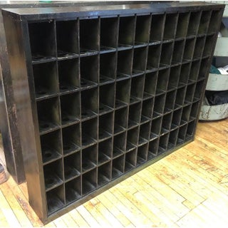 Storage Cabinet of Painted Steel as Wine Rack, Dvd, CD Storage, 72 Cubbies Preview