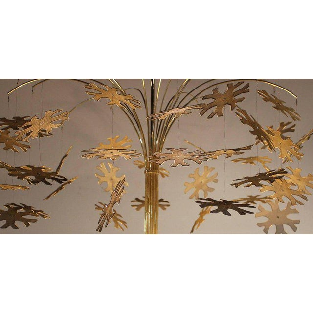 Metal Magnificent Paavo Tynell Snowflake Chandelier For Sale - Image 7 of 10