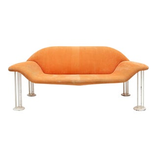 1960s Salmon Sofa For Sale