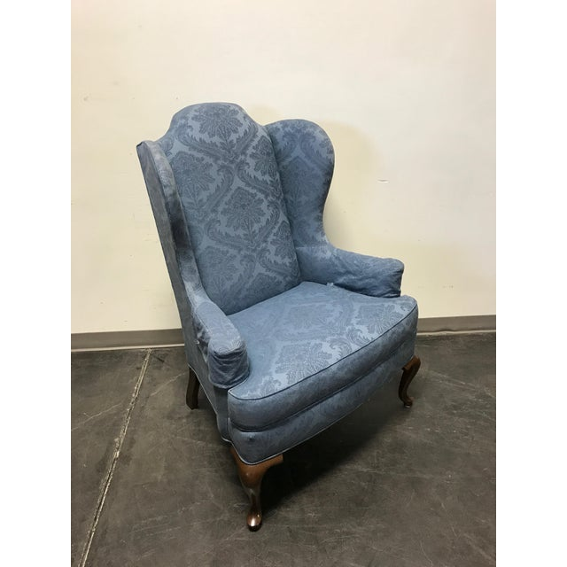 Drexel Classics Queen Anne Wingback Wing Chair - Image 3 of 10