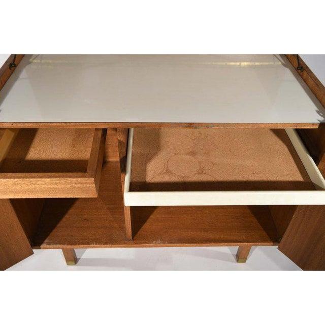 Wood Harvey Probber Bar Cabinet For Sale - Image 7 of 9
