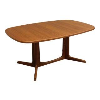Niels Moller Danish Modern Teak Dining Table For Sale