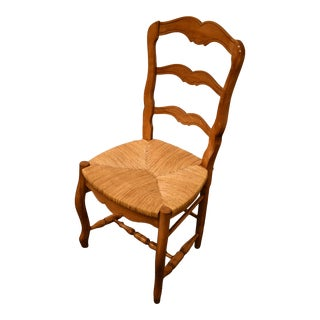 Ethan Allen Ladder Back Side Chair For Sale
