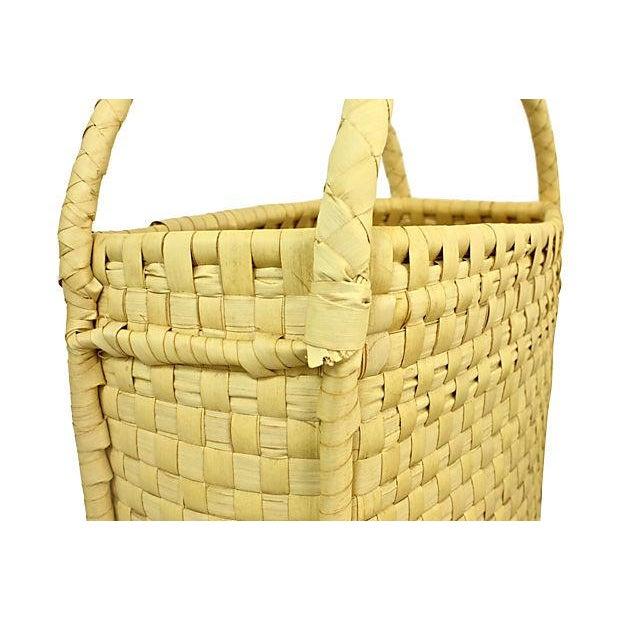 Coconut Palm Market Basket - Image 4 of 5