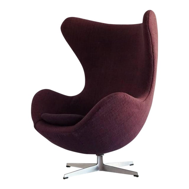 First Edition Arne Jacobsen Egg Chair 1958 - Image 1 of 1