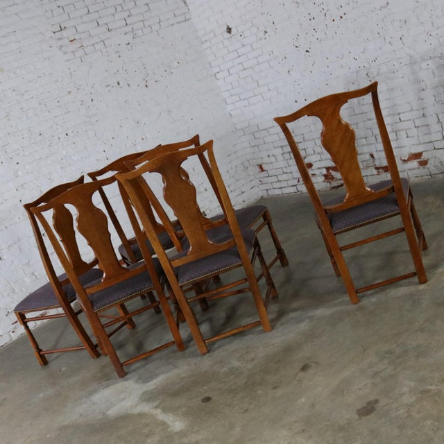 Baker Chippendale Style Dining Chairs - Set of 6 For Sale - Image 5 of 11