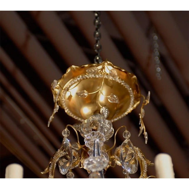 Early 20th Century Jansen Antique Chandelier For Sale - Image 5 of 8