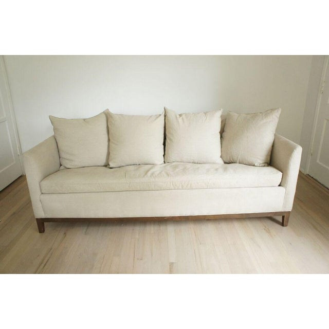 Cisco Home Flax Linen Sofa - Image 2 of 10