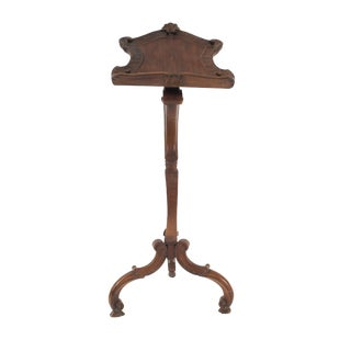 Italian Venetian Grotto Style Lectern or Music Stand For Sale