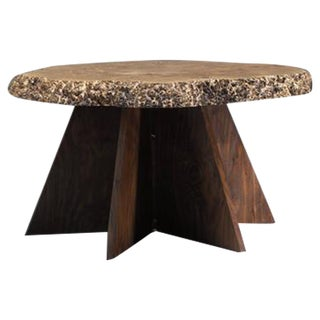 Michael Elkan Studio Crafted Coffee Table of Maple Burl, USA, 1980s For Sale