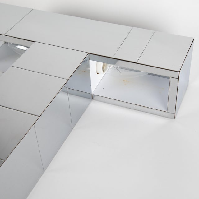 "Chrome 1970's Paul Evans Chrome ""Cityscape"" Table or Desk Lamp For Sale - Image 7 of 13"