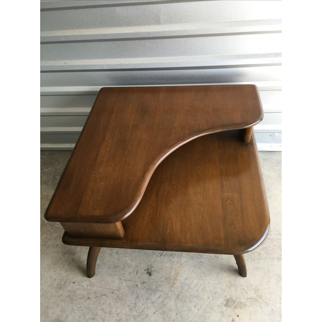 Heywood Wakefield Corner Table C 1950's - Image 2 of 10