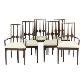 """Mid-Century Modern Broyhill """"Brasilia"""" Dining Chairs - Set of 6 For Sale"""