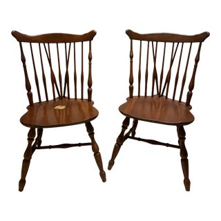 Mid Century Modern Windsor Chairs - a Pair