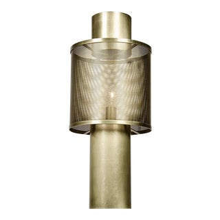 Thana Table Lamp, Antique Brass For Sale