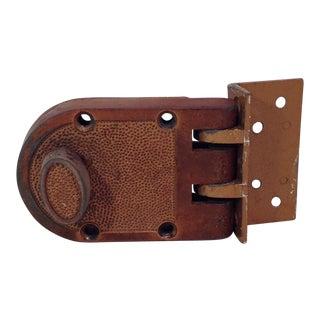Mid-Century Modern Thumb Latch Lock Deadbolt