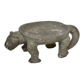 Fine Pre-Columbian Jaguar Stone Metate For Sale