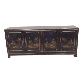 John Widdicomb East Asian Style Sideboard Buffet For Sale