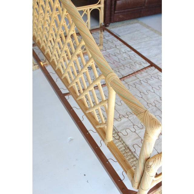 Rattan Daybed Frame For Sale - Image 10 of 11
