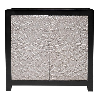Leaf Design Small Cabinet For Sale