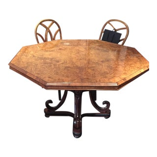 "1840s Antique English Regency ""Center"" Table For Sale"