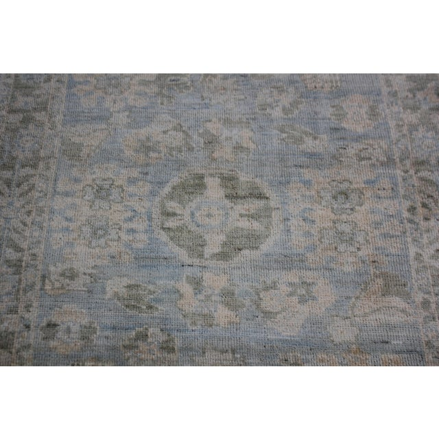 """Aara Rugs Inc. Hand Knotted Oushak Rug - 8'0 X 5'3"""" For Sale - Image 4 of 6"""