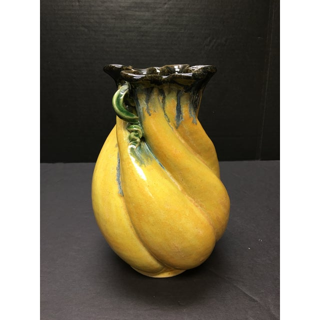 This lovely pottery vase was made by Maggie and Freeman Jones of Turtle Island Pottery in North Carolina. It has wonderful...