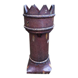 English Salt Glaze Chimney Pot For Sale