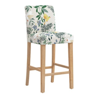 Bar stool in Belize Chinoiserie Cream For Sale