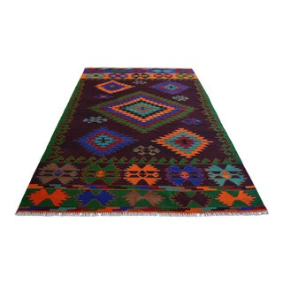 1960s Hand Made Turkish Rug For Sale