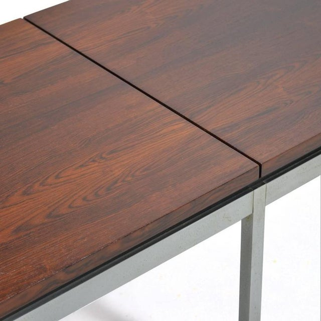 Florence Knoll Rosewood Table or Bench For Sale In Chicago - Image 6 of 10