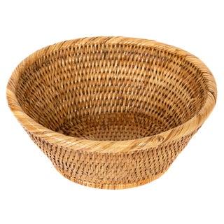 "Artifacts Rattan Oval Basket 9""x8""x4"""