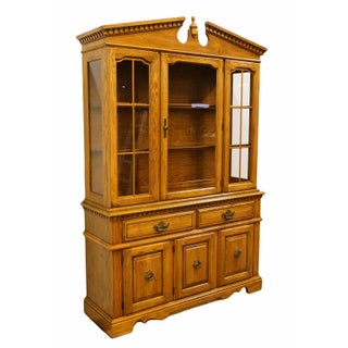 """20th Century Early American Broyhill Furniture Lenoir House Solid Maple Colonial 56"""" Buffet Preview"""