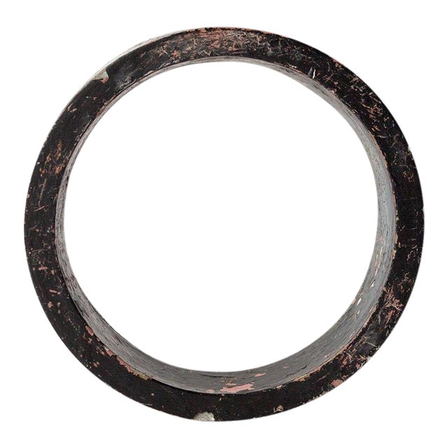Industrial Salvage Small Letter O For Sale